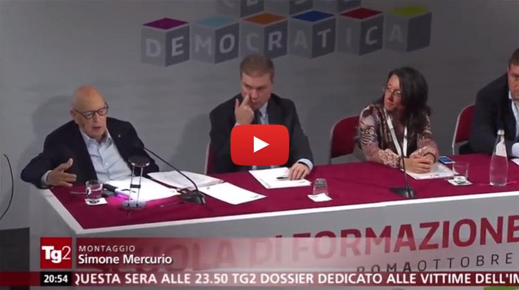 Dichiarazione Onorevole Luca Lotti al TG2